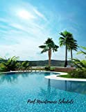 swimming pool plans Pool Maintenance Schedule: Swimming Pool Maintenance Log