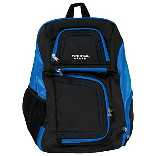 Five Star Backpack with Insulated Storage, Back Pack, Blue 73292
