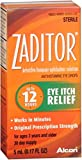 Zaditor Antihistamine Eye Drops 0.17 oz (Pack of 2)