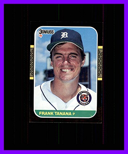 (1987 Donruss #152 Frank Tanana DETROIT TIGERS)