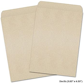 50 Blank Proterra Seed Envelopes (Self Sealing) - Customize Your Own Seed Packets!