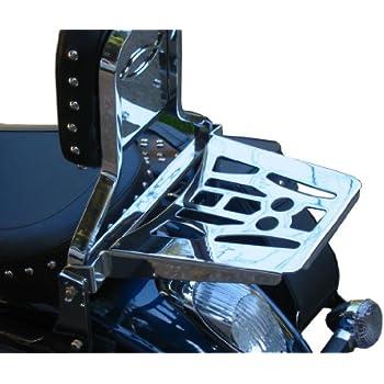 Kawasaki EN500 Luggage Rack for 96 Vulcan VN500 LTD