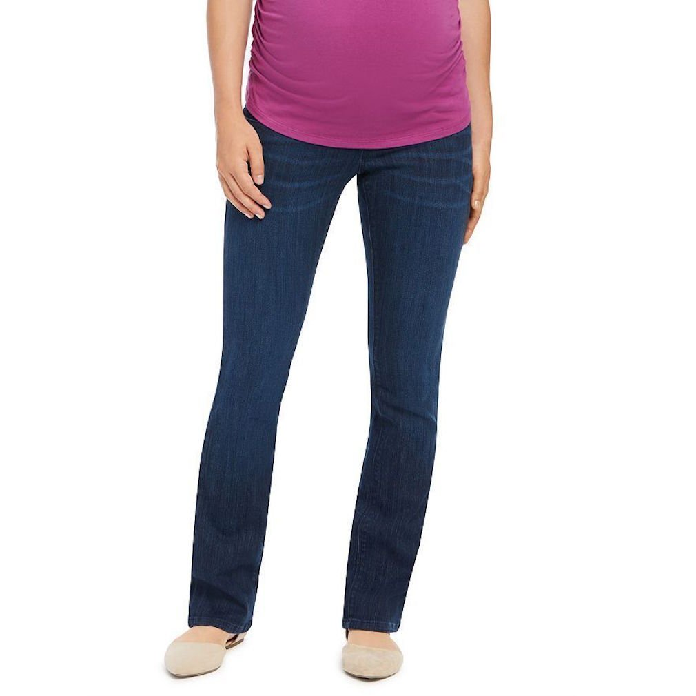 Oh Baby by Motherhood Maternity Secret Fit Belly Straight-Leg Jeans Size M