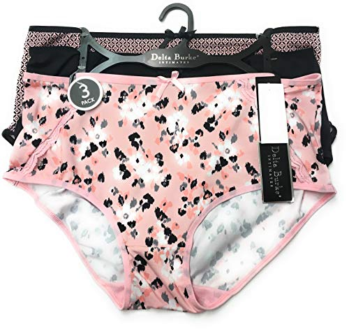 Delta Burke Intimates Woman's Underwear Panties Briefs - 3 Pack ()