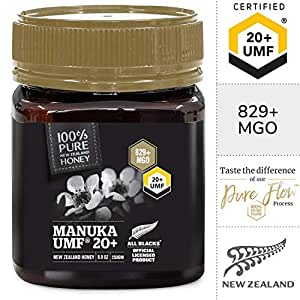 Pure New Zealand UMF 20+ (MGO 829+) Raw Manuka Honey - 8.8 oz / 250g
