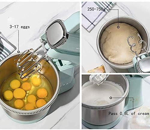 Hand Mixer Elektrische Klopper van het ei 2 in 1 huishouden Desktop Dough Mixer for Kitchen Baking Cake Mini Egg Cream Eten Beater