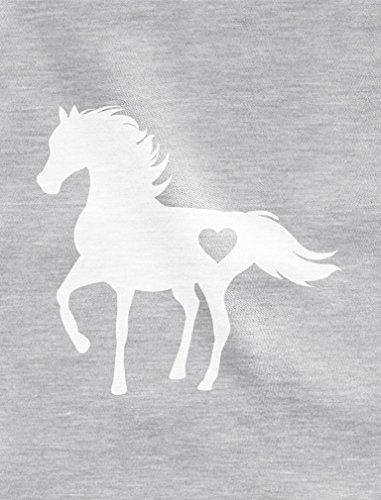 Tstars Gift for Horse Lover Love Horses Toddler Kids T-Shirt 3T Blue by Tstars (Image #2)