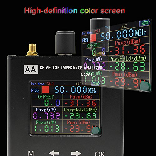 2018 Accuracy N1201SA Upgrade version N2201SS n2201 140M - 2.7GHZ UV RF Vector Impedance ANT SWR