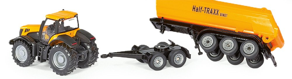 JCB with Dolly and Trailer