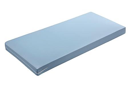 zollner Colchón, colchón de espuma, colchón de espuma de poliuretano con camiseta azules extraíble, disponible en ...