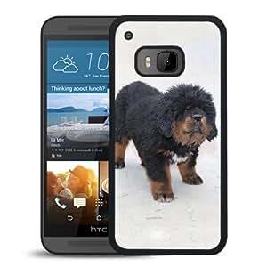 Unique DIY Designed Cover Case For HTC ONE M9 With Tibetan Mastiff Puppy Animal Mobile Wallpaper Phone Case
