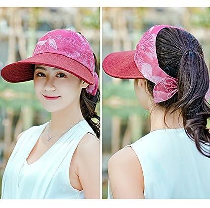 ecf35712 FUNS Chapeau Femme Large Wide Brimmed Folding Sun Hat: Amazon.in:  Electronics