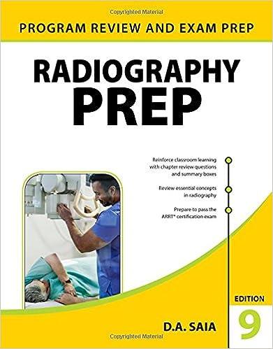 Radiography PREP (Program Review and Exam Preparation), Ninth