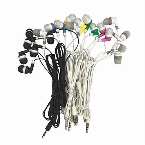 Wholesale Kids Bulk Earbuds Headphones Earphones, 6 Assorted Colors,For Schools, Libraries, Hospitals (10pack) from Enjoy.Tlife