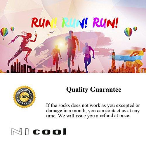 Running Cushion Socks, NIcool Low Cut Tab Athletic Ultralight Socks for Men and Women