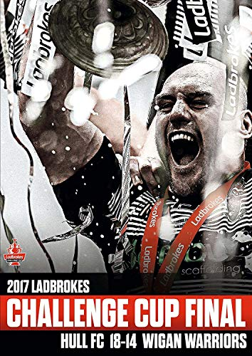 2017 Ladbrokes Challenge Cup Final Hull FC v Wigan Warriors [DVD]
