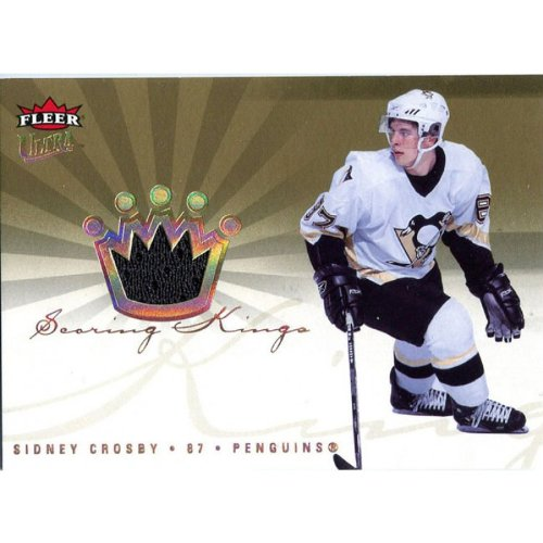 Sidney Crosby Unsigned 2006-07 Fleer Ultra Jersey Card