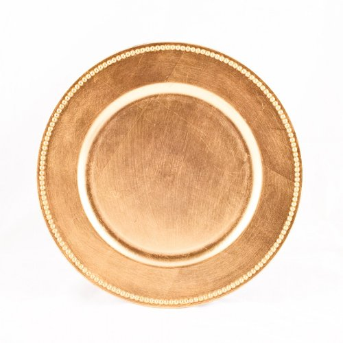 Koyal Wholesale Charger Plates, Gold (Pack of (Plate Chargers Wholesale)