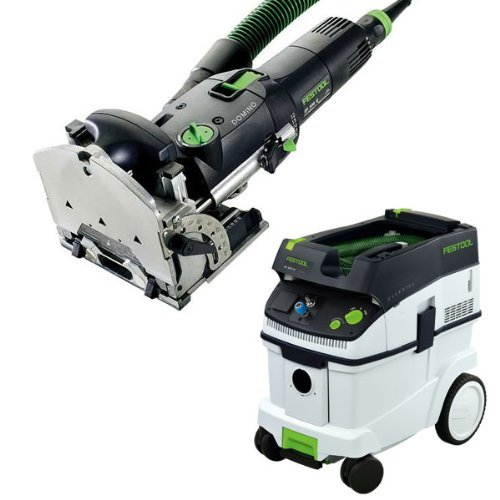 Festool DF 500 Q Domino Jointer + CT 36 E Dust Extractor Package