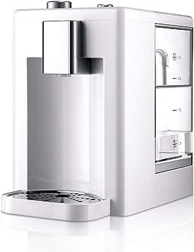 Purificador de agua instantáneo Calentador del Filtro de calefacción de sobremesa Caldera de sobremesa Dispensador de Agua para el hogar con Neta, para Reducir el Plomo y Otros Metales Pesados: Amazon.es: Hogar