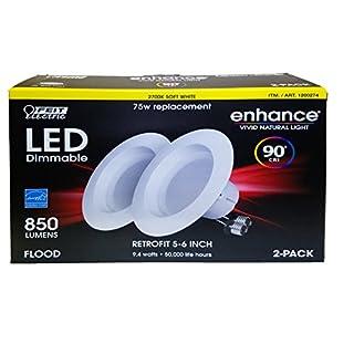 Feit CELEDR6/927/2 90+ CRI 75W Bulb, Soft White