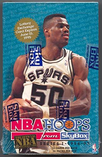(1994-95 SkyBox Hoops Series 1 Basketball Box )