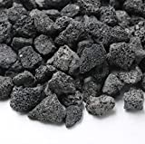 Skyflame Natural Lava Rock Granules for Gas Log Sets and Fireplaces (5-lb Bag)