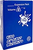 Kids Against Maturity Expansion Pack #2, Card Game for Kids and Families, Super Fun Hilarious for Family Party Game Night (Core Game Sold Separately)