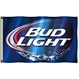 2But Budweiser Bud Light Beer Flag Banner 3x5 Feet Man Cave