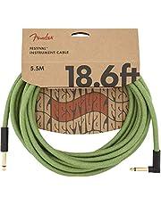 Fender® Festival kabel, angled 5,5 m groen