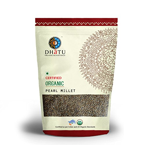 Organic Pearl Millet Pure Indian taste cuisine Indian food - Quick cook, good for health500g