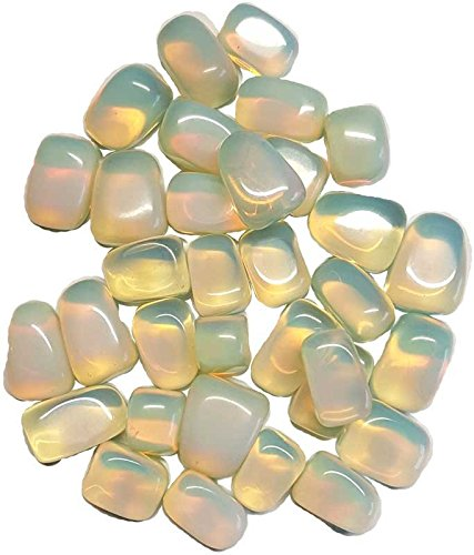 New 1 lb Opalite tumbled stones by Raven Blackwood