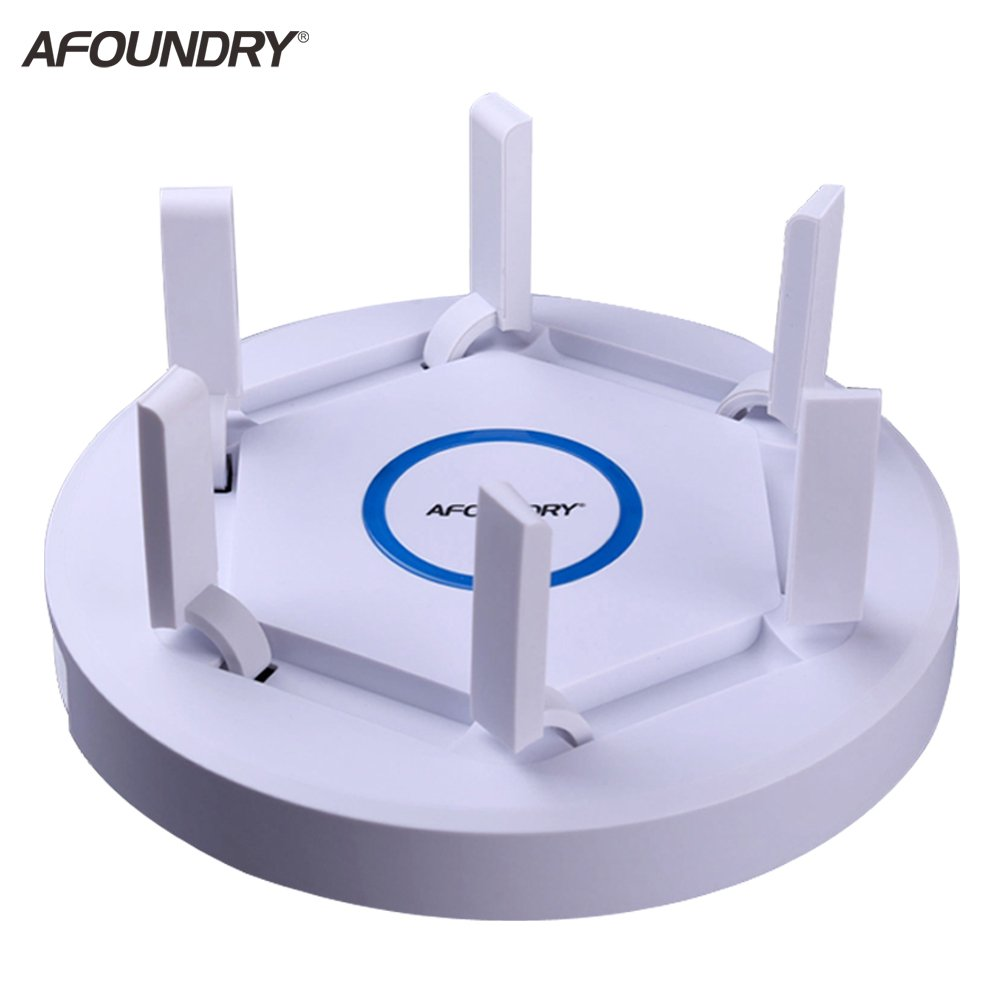 AFOUNDRY EW1900 Gigabit Dual Band Wireless WiFi Router,2600Mbps Computer Router Long Range up to 200m, High Power Business Enterprise Router