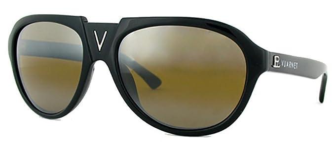 Amazon.com: Vuarnet V Bridge Aviator anteojos de sol VL 1106 ...