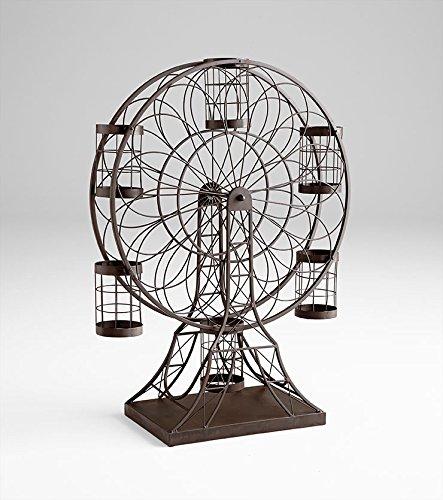 Cyan Design 06637 Ferris Wheel Wine Holder