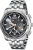 Citizen Men's AT9010 52E World Time A-T Stainless Steel Eco Drive (Small Image)