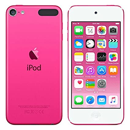 Apple iPod Touch 6th Generation,2015 Edition,128 GB Pink Color