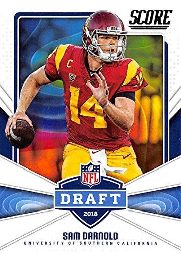 2018 Score NFL Draft #1 Sam Darnold USC Trojans Football Card