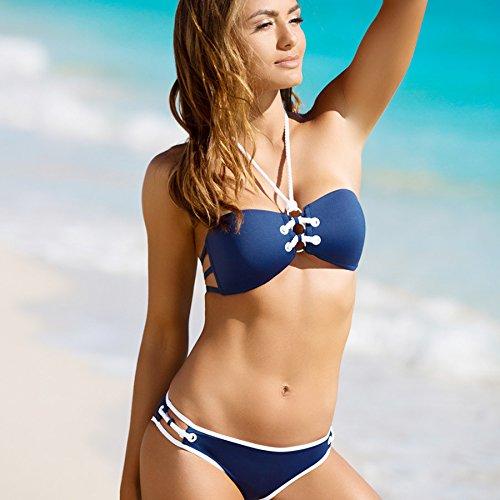 XX&GXM Frauen Badeanzug Drucken Strand Bikini