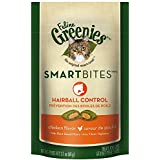 GREENIES SMARTBITES Cat Treats, Chicken, Hairball Control, 2.1 oz