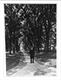 Historic Print (L): [Retired president of Princeton, James McCosh, walking on...
