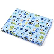 KLOUD City Baby Waterproof Washable Diaper Changing Mat Pad (Blue 27.5x19.5 inch