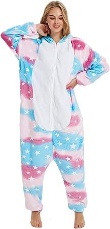 ★ El pijama toma las fotos de unicornio, lo que hace que se vea dulce.,★ 100% Flannel.It es super cu
