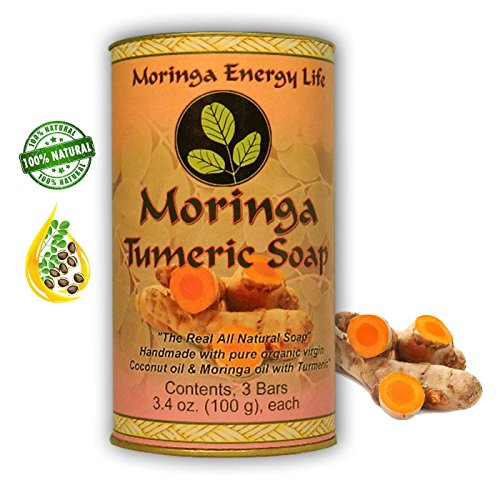 MORINGA TURMERIC SOAP 3 PACK Rejuvenate product image