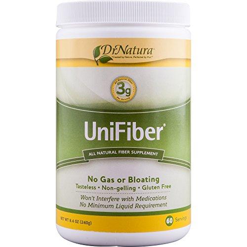 Dr. Natura® Unifiber, Natural Fiber Supplement, 8.4-Ounce (Best Insoluble Fiber For Constipation)
