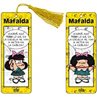 Marcapaginas 3D Mafalda (color amarillo)