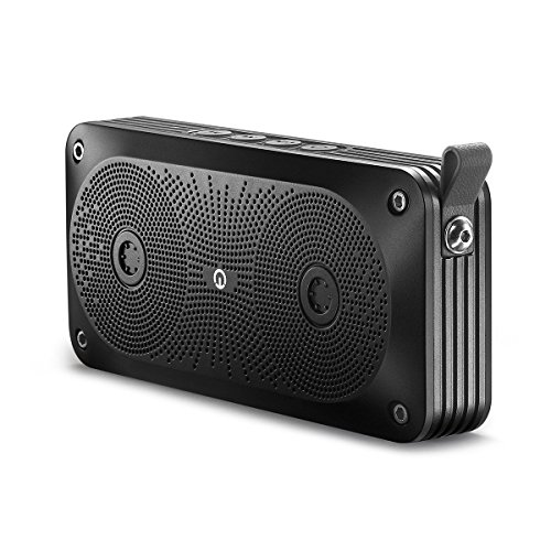 Bluetooth Speaker, New Trent 7W Output Bluetooth Portable Wireless Stereo Speakers with Built in Microphone for Handfree Phone Call [Black]