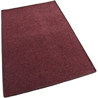 "3X5 - RED MULTI - Indoor/Outdoor Area Rug Carpet, Runners & Stair Treads with a Non-Skid Latex Marine backing and Premium Nylon Fabric FINISHED EDGES . Olefin , 3/16"" Thick + Medium Density. MANY SIZES and Shapes. Rectangles, Squares, Circles, Half Rounds, Ovals, and Runners."