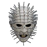 ElementDigital Hellraiser Pinhead Mask Halloween Adult Hellraiser Mask for Halloween Costume Decoration Accessory (Hellraiser Pinhead Mask)