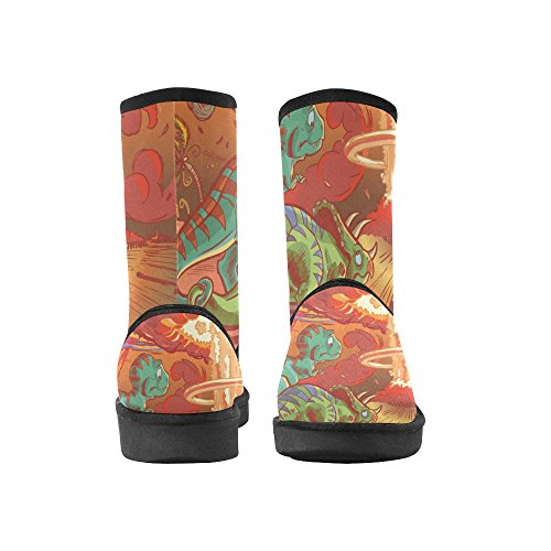 Eye American Story Multicoloured4 Boots D Eagle Unisex Flag Mens Snow Casual Boots Womens and d5XOwOFq
